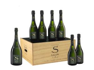 CHAMPAGNE SALON 2008 MAGNUM CAISSE  OENOTHEQUE