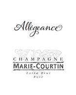 Champagne Marie Courtin Allégeance